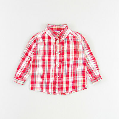 Camisa color Rojo marca Tex 9 Meses