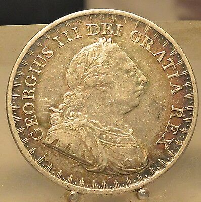 1811 Great Britain Silver 3 Shilling, Old World Silver Coin