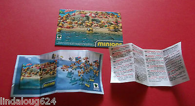 Minion 2015 Kinder Surprise Limited Edition Canada Puzzle  FF353 NEW