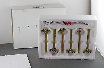 Dept 56 General Village Accessory Telephone Poles Set of 6