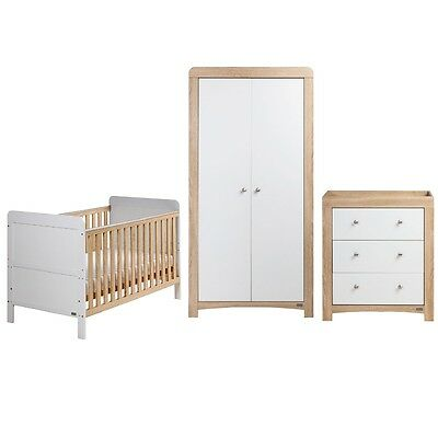 East Coast Nursery & Baby's 3pc (Fontana Ice) Room Set - New