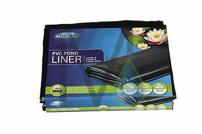 Aquapro PVC Pond Liner Pre Packed 6mt X 4mt