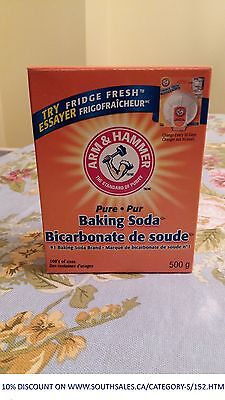 Arm & Hammer Pure Baking Soda for Cleaning 500g 16 OZ Box