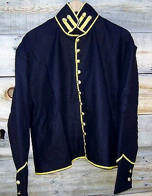 Civil War Reenactor Union Cavalry Shell Jacket With Bolsters 42