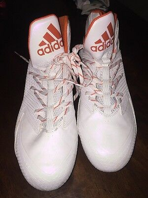 Ryan Tannehill #17 Miami Dolphins Game Used Worn Cleats Custom Adidas Aggies