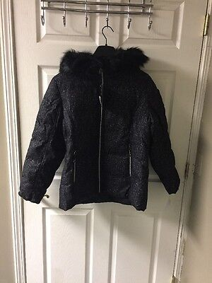 f501c6db986 NWT  180 Women s ZeroXposur Synthetic Wool Hooded Puffer Coat Jacket Medium  M