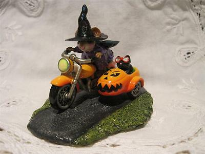 Wee Forest Folk Spooky Speeder Limited Edition from 2013 Event - Brand New!