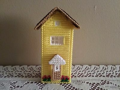"""Handcrafted """"cottage House Night Light Cover"""" (New)"""