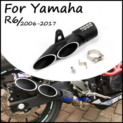 Exhaust Pipe Dual-outlet Tail pipe For Motorcycle Exhaust System