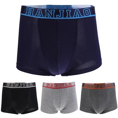 Men Classic Stretchy & Comfy Underwear Boxer with Flat Waistband