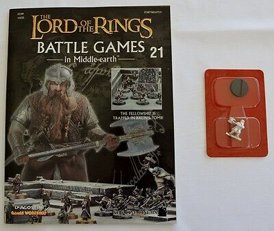 Lord Of The Rings:Battle Games In Middle-Earth–Issue #21 Magazine & miniatures
