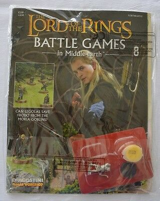 Lord Of The Rings:Battle Games In Middle-Earth–Issue #8 Magazine with miniatures