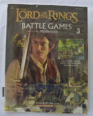 Lord Of The Rings:Battle Games In Middle-Earth–Issue #3 Magazine with miniatures