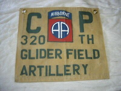 Wwii Us 82 Nd  Airborne Division 320 Th Glider Fa D-Day Holland Bulge   Flag
