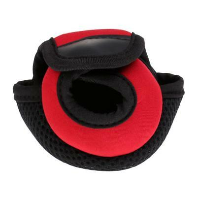Fishing Reel Cover Fishing Reel Pouch Spinning Reel Bag Protective Case Red