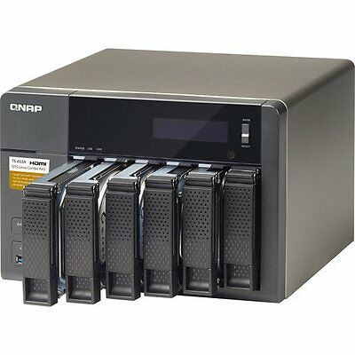 QNAP TS-653A 6-Bay NAS Server (4GB RAM) - Supports 4K/HDMI - New in Box  EURO