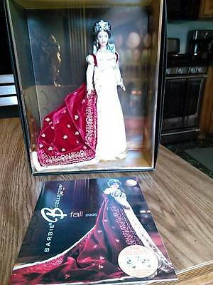 EMPRESS JOSEPHINE Women Royalty COLLECTOR BARBIE 2005 w/ Catalog Cover Featured