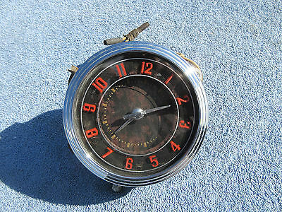 1946 1947 1948 Ford Deluxe Clock