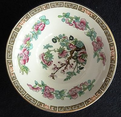 """Two Lovely Maddock China Ironstone """"Indian Tree""""  Dessert Bowls  c1930"""