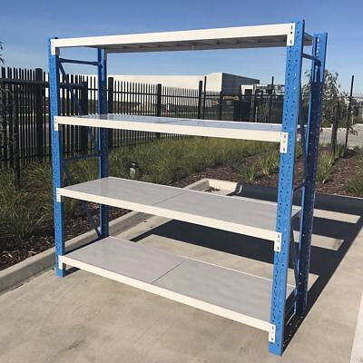 2M Length Steel Warehouse Racks Storage Shelving Garage Shelf Racking Shelves