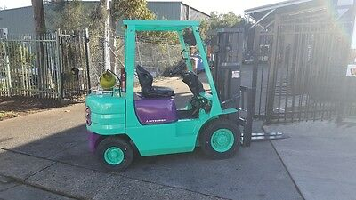 Mitsubishi Forklift 2.5 Ton 4.3M Lift Container Mast $8,499+GST NEGOTIABLE