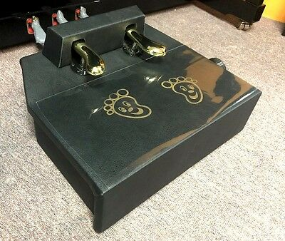 Piano Pedal Extender Adjustable Platform Dual Pedal SOLID @ CarlingfordMUSIC