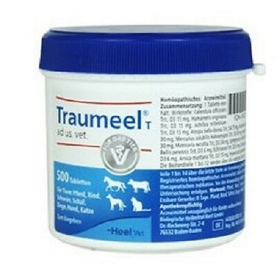 Heel Traumeel T Tablets 500 Brand New & Sealed FREE POSTAGE