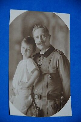1918 World War German Captain Field Post Vintage old Photo WWI Antique 111