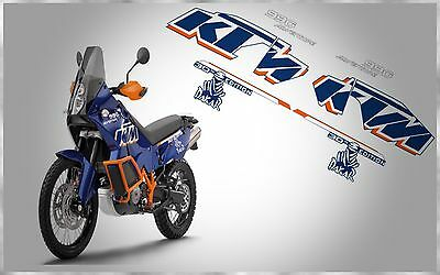 Ktm Lc8 990 Adventure R Rally Dakar 30Th Edition Complete Graphic Decals Kit