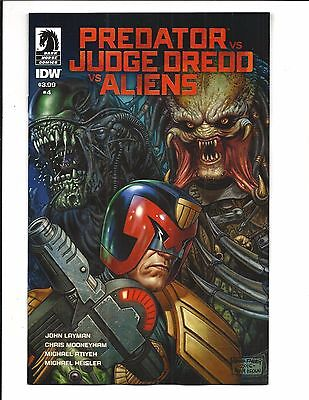 PREDATOR vs JUDGE DREDD vs ALIENS # 4 (JUNE 2017), NM NEW