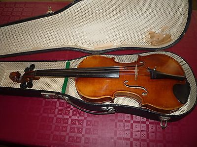 Antique German GUSTAV MENZINGER 1910  4/4 Old Violin 小提琴 antique violins violín