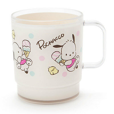 POCHACCO Plastic mug (ice) SANRIO from Japan kawaii  SHIPPING FREE