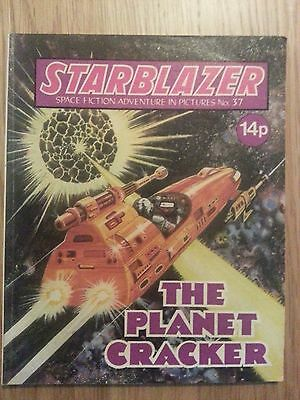 Starblazer Issue No 37 - The Planet Cracker