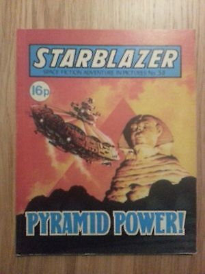 Starblazer Issue No 58 - Pyramid Power