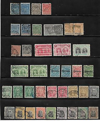 Collection Of Rhodesia Stamps  Used - Overprints Inc.
