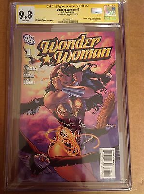 CGC SS 9.8 Wonder Woman #1 signed by film star Gal Gadot Justice League movie