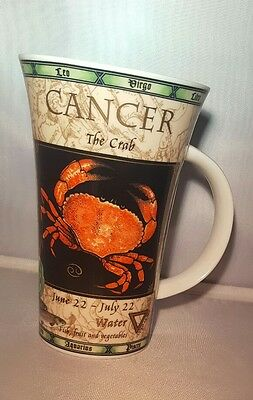 Dunoon Zodiac Large Latte Mug Cancer The Crab