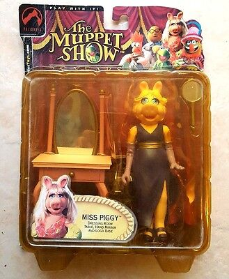 Palisades Figures The Muppet Show Miss Piggy Rare 2002 Edition Dressing Room