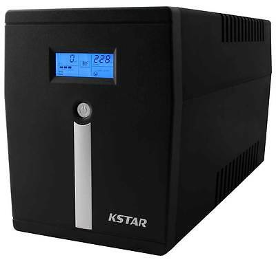UPS 1500VA (1.5KVA) 1050W Pure Sinewave with Australian Outlets| 2 Year Warranty