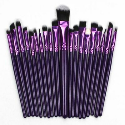 20pcs Makeup Brush Powder Foundation Eyeshadow Eyeliner Lip Brushes Set Cosmetic