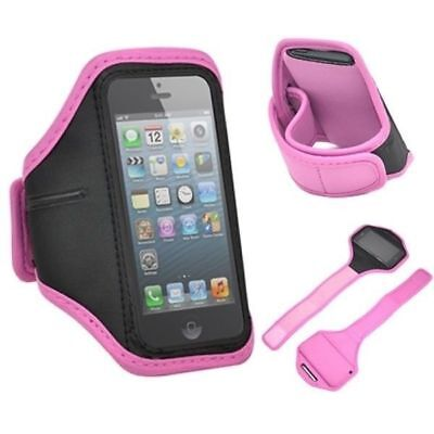 Sports Gym Armband Strap Pouch Case Cover For iPhone 5 iP 5G Exercise Jogging