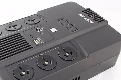 UPS Battery Backup & Surge Protection 600 VA for Computers | 2 Years Warranty