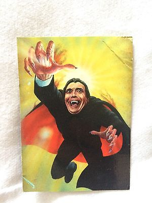 DRACULA - CHRISTOPHER LEE - HAMMER HORROR  - Playing Card