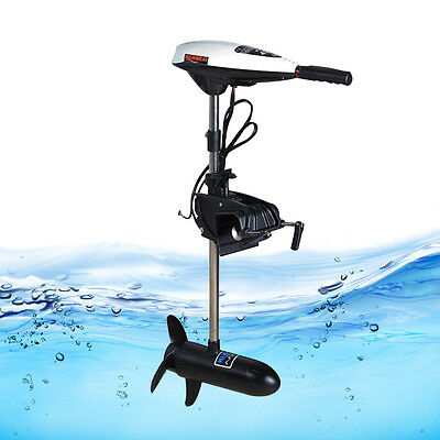 Electric Outboard Motor 45lb Trolling Thrust Outboard Engine Boat Dinghy Fishing