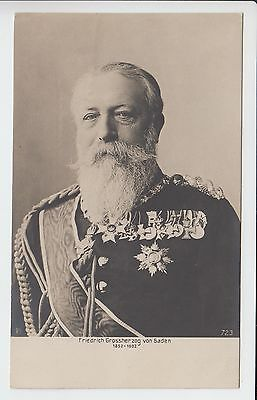 Grand Duke Friedrich I. of Baden parade uniform on his 50th government Jubilee