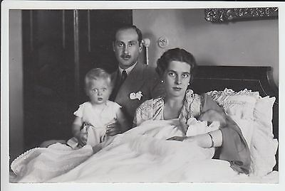 Margrave Berthold of Baden with his family 1933 RARE photo !!!
