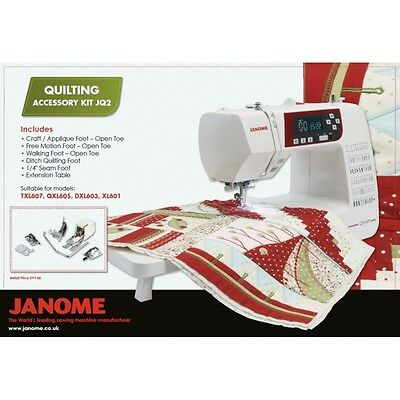 Janome JQ2 Sewing Machine Quilting Accessory Kit