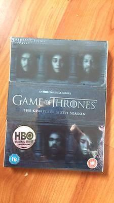 Game of thrones season 6 full series six region 2