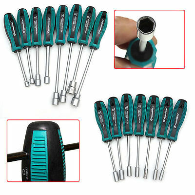 Socket Wrench Screw Driver Metal Hex Nut Key Hand Tool Screwdriver 3mm-14mm