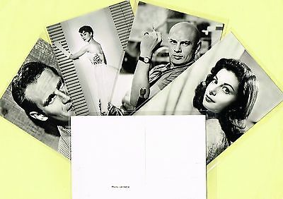 """1950s Film Star Postcards issued in Holland """"Photo Veritable"""" (Ref: ANON03)"""